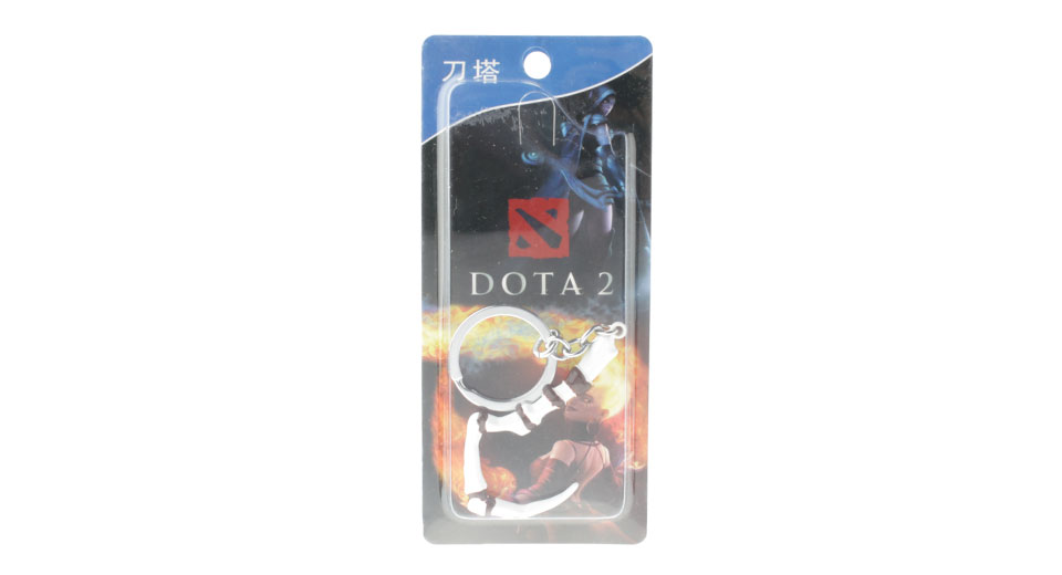 $2.56 DOTA 2 Pudge Inscribed Dragonclaw Hook Keychain At