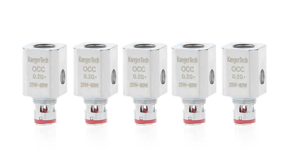 Image of Authentic KangerTech Nickel Alloy OCC Coil Head (5-Pack)