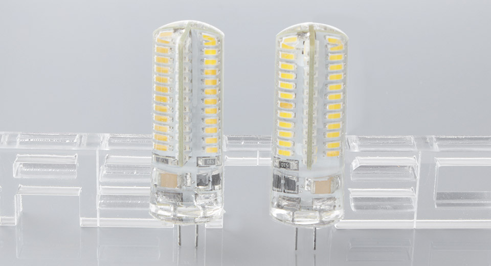 G4 5W 96*3014 400LM 2800-3200K Warm White LED Light Bulb (2-Pack), 5W, 96*3014, 400LM, 2800-3200K, 2-Pack