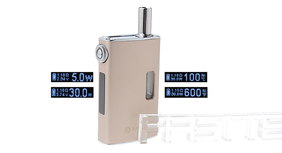 *SALE* Authentic Joyetech eGrip VT 30W 1500mAh TC VW Mod Kit, eGrip VT, Gold