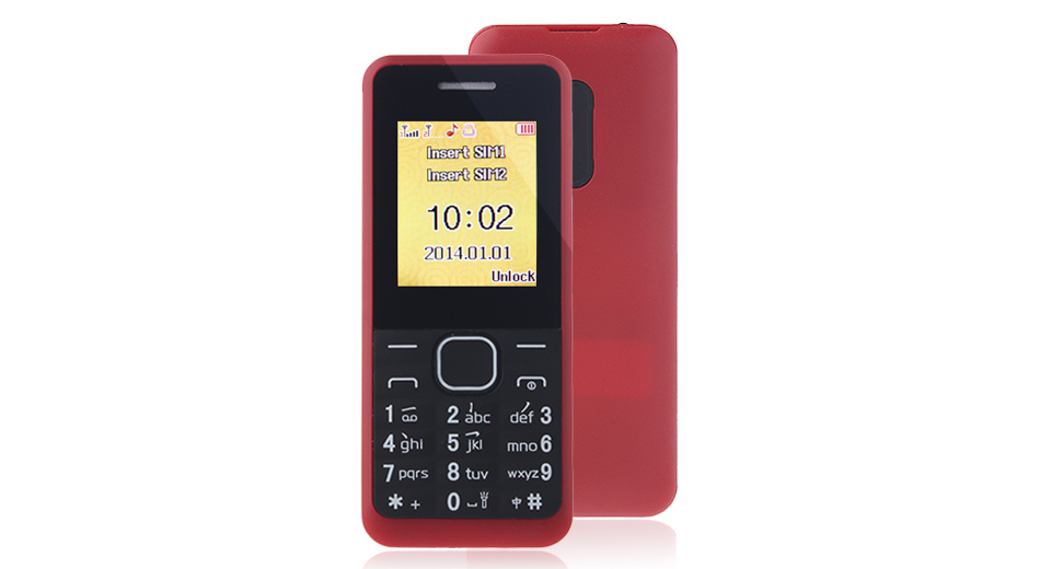 """Image of Authentic F-FOOK F688D 1.8"""" Dual-SIM Dualband GSM Feature Phone for Senior Citizens"""