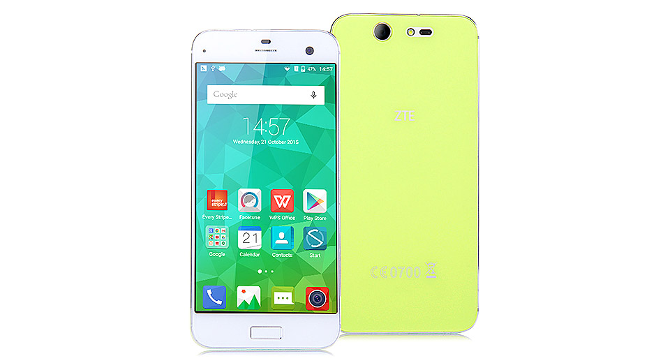 "Authentic ZTE Blade S7 5"" IPS Octa-Core Android 5.1.1 Lollipop LTE Smartphone (32GB)"