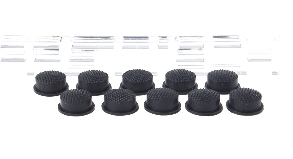 Image of Rubber Tailcaps for LED Flashlight (10-Pack)