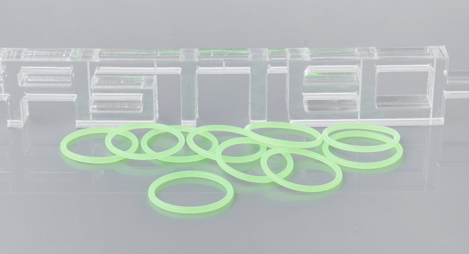 Image of Silicone O-Ring Seals for LED Flashlight (10-Pack)