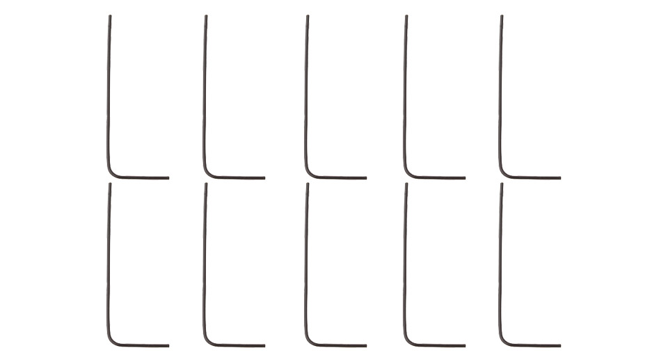 Image of 0.7mm Allen Keys for E-Cigarette (10-Pack)