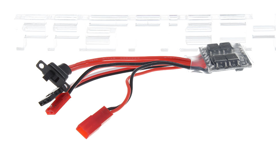 10A Brushed ESC Electronic Speed Controller