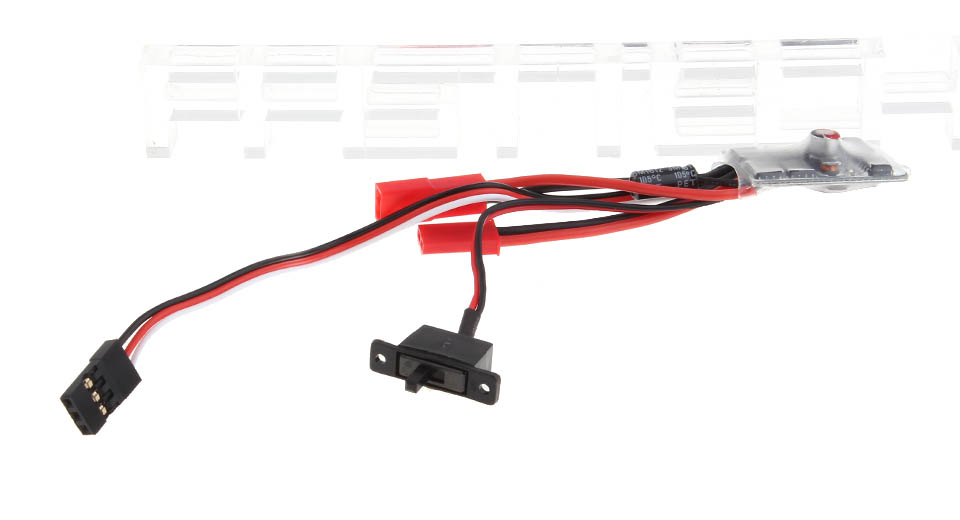 20A Brushed ESC Electronic Speed Controller