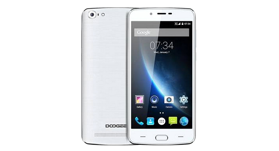 "DOOGEE Y200 5.5"" IPS Quad-Core Android 5.1 Lollipop LTE Smartphone (32GB)"