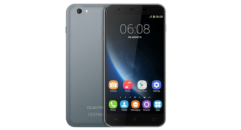 "OUKITEL U7 Pro 5.5"" IPS Quad-Core Android 5.1 Lollipop 3G Smartphone (8GB)"