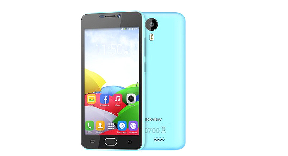 "Blackview BV2000 5"" IPS Quad-Core Android 5.0 Lollipop LTE Smartphone (8GB)"