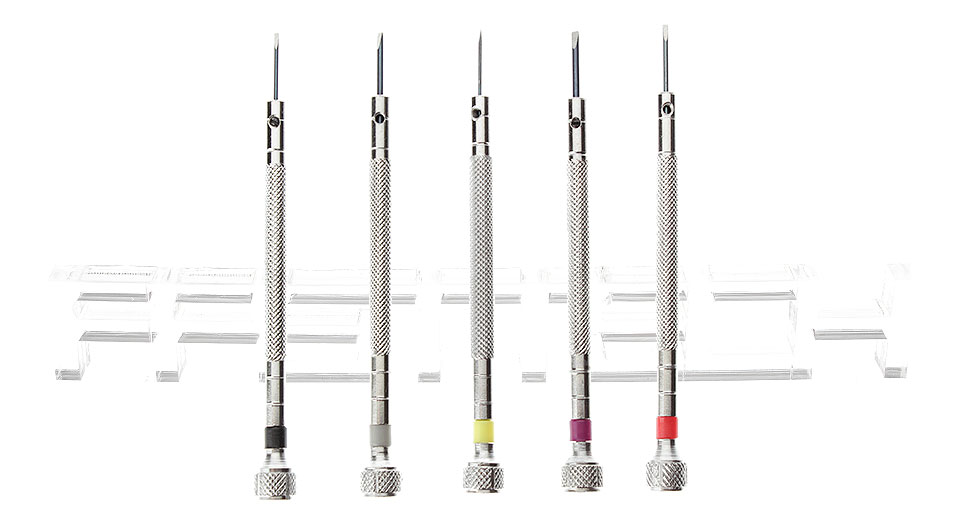 Image of Slotted Screwdriver Kit Watch Repair Tool (5 Pieces)