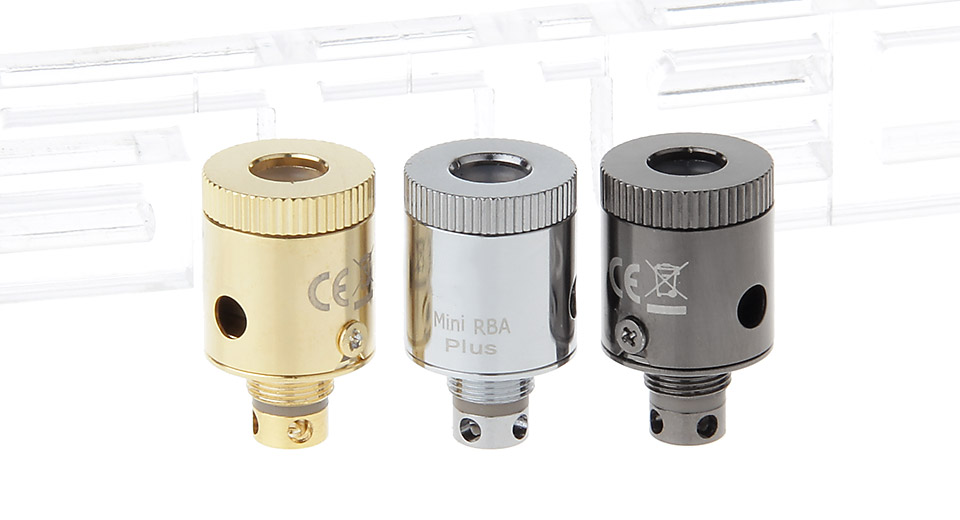 Image of Replacement RBA Coil Head for SUBTANK Mini Clearomizer (3 Pieces)