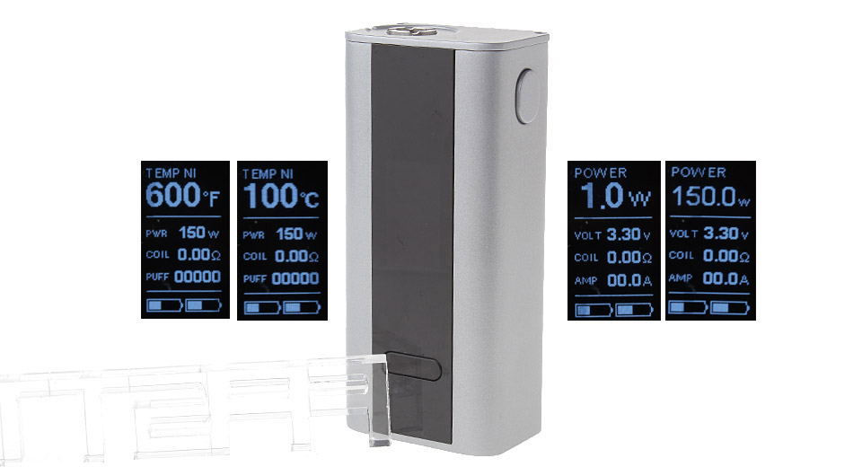 Authentic Joyetech Cuboid 150W TC VW APV Box Mod