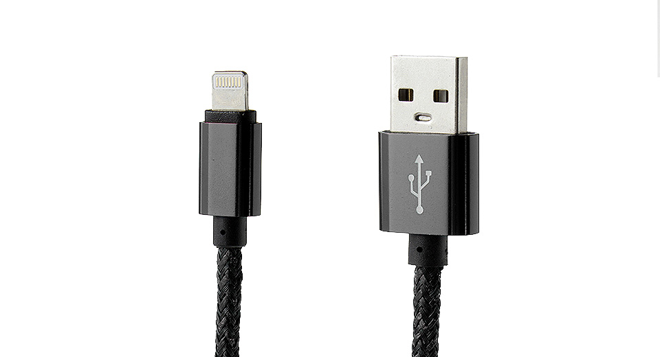 Product Image: 8-pin-to-usb-2-0-braided-data-sync-charging-cable