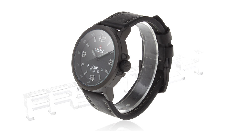 NAVIFORCE 9028 Military Style Men's Analog Quartz Wrist Watch