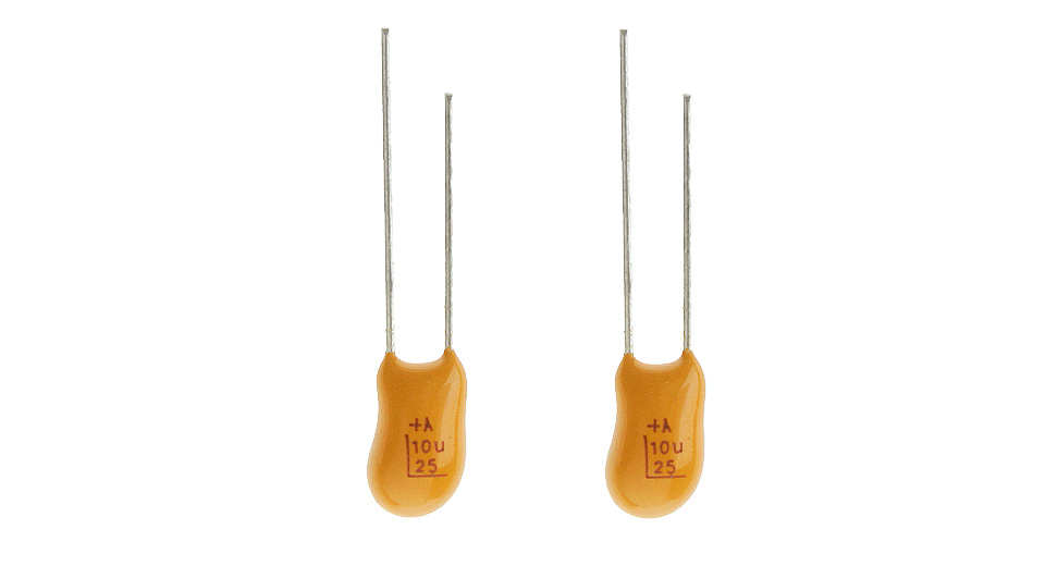 Image of 10uF 25V Tantalum Capacitor (2-Pack)