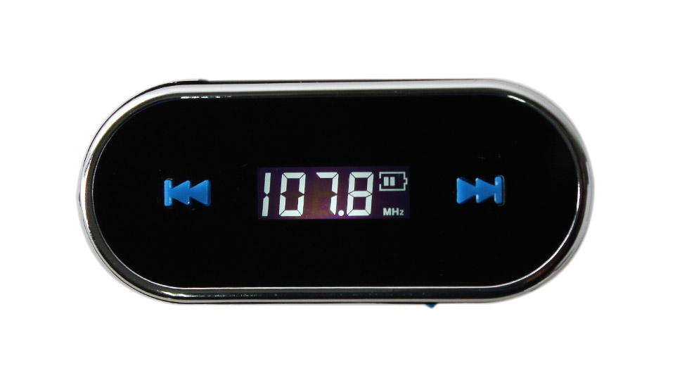 """Image of 0.75"""" LCD Hands-free Car FM Transmitter"""