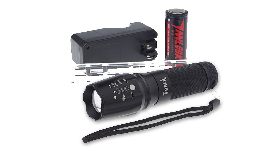 Product Image: tanlu-878-led-flashlight-gift-set-w-focus-zoom