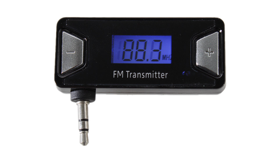 """Image of 0.8"""" LCD Hands-free Car FM Transmitter"""