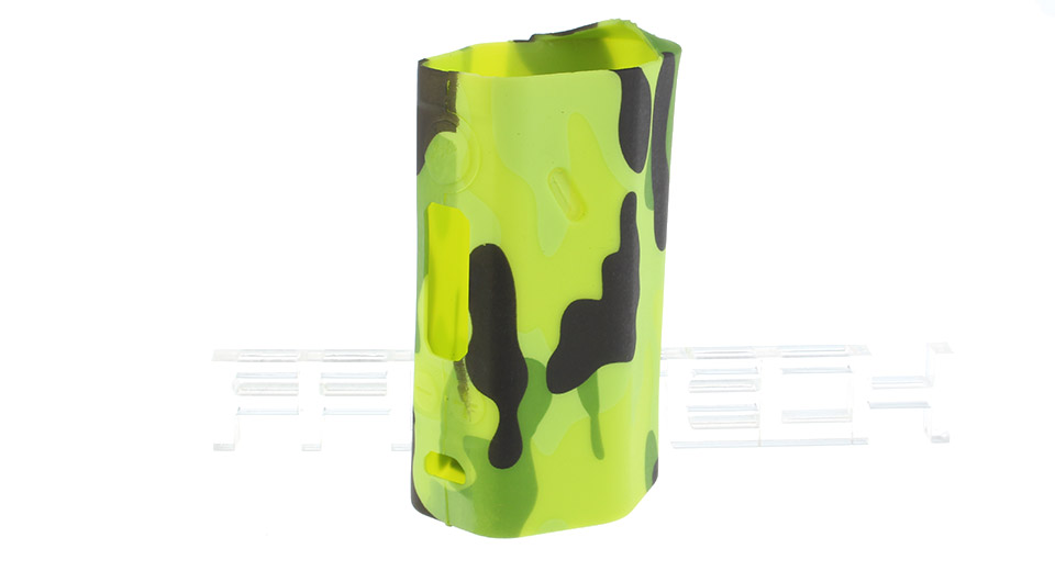 Protective Silicone Sleeve Case for Wismec Reuleaux RX200 200W Mod RX200, Silicone, Grass Green Camo