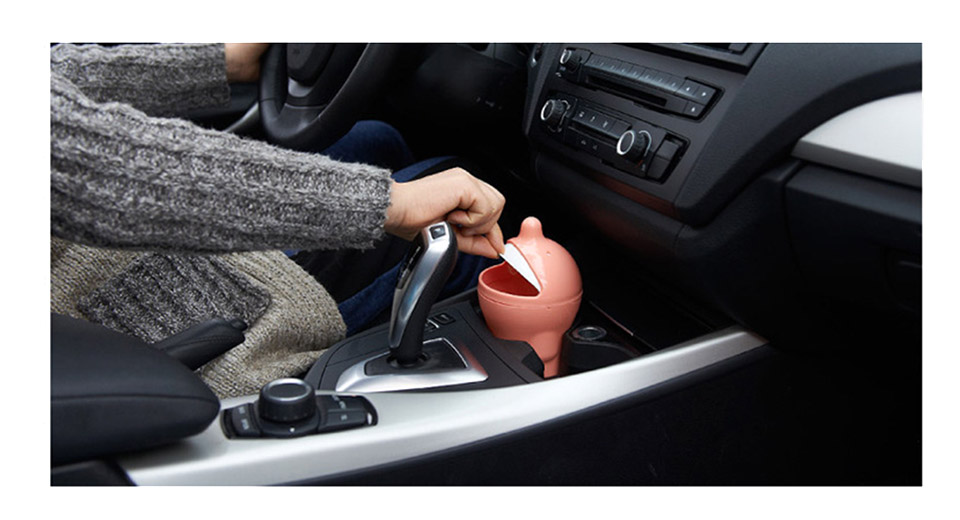 dolphin styled car auto interior mini trash can pp at fasttech worldwide free shipping. Black Bedroom Furniture Sets. Home Design Ideas