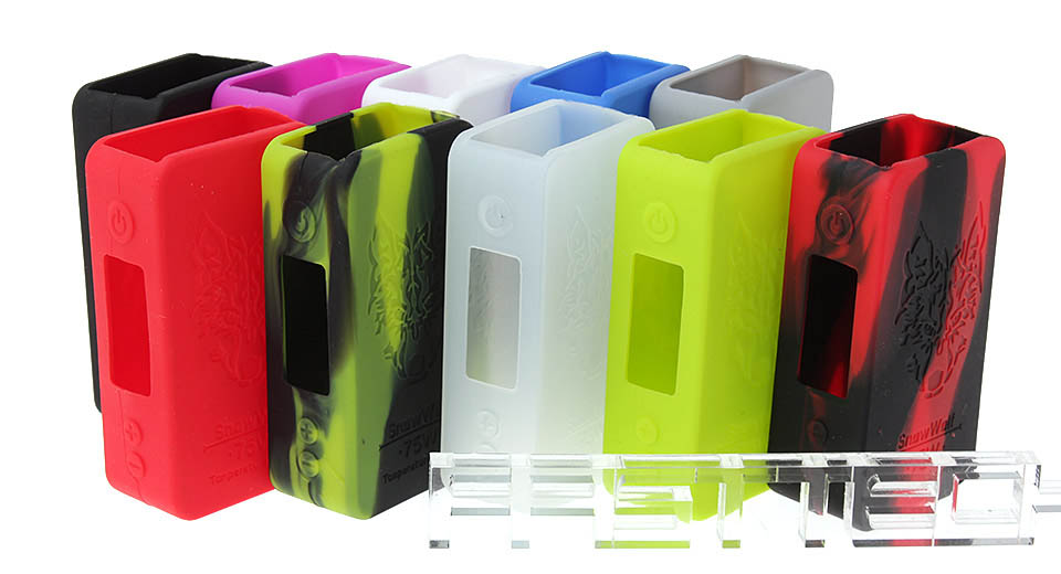 Protective Silicone Sleeve Case for Snow Wolf Mini 75W TC VW APV Mod (10 Pieces)