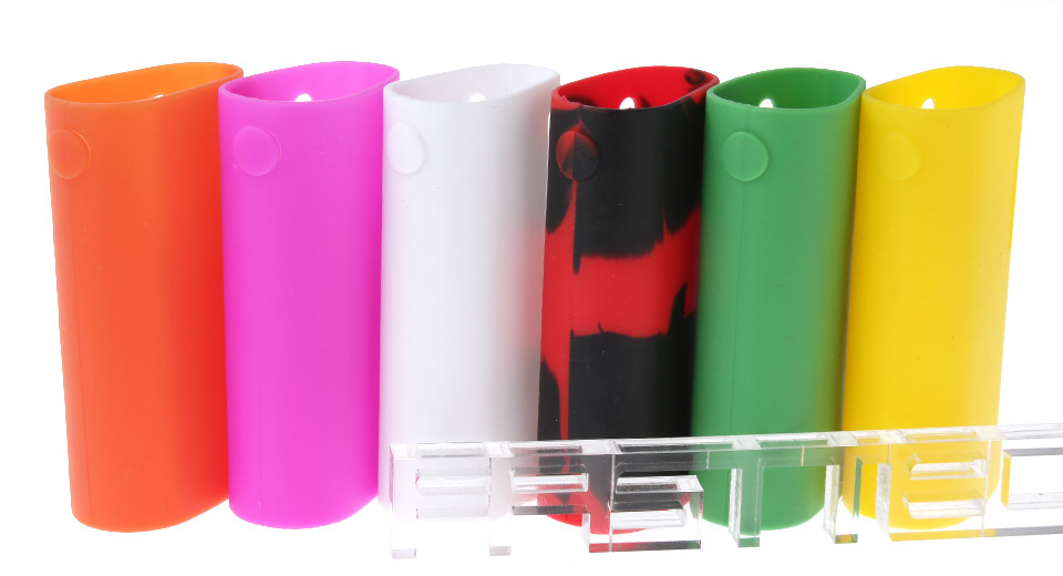 Protective Silicone Sleeve Case for iStick Basic 2300mAh Battery (6 Pieces)