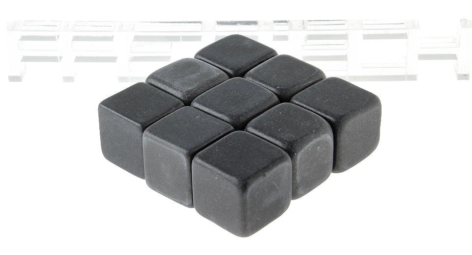 SHUN Whisky Chilling Rock Whisky Stone (9-Pack)