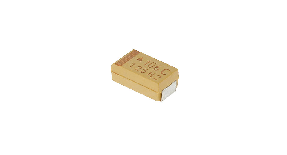 Product Image: avx-6032-10uf-16v-smd-tantalum-capacitor-10-pack
