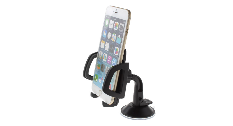 Car Suction Cup Detachable Cell Phone Holder Stand