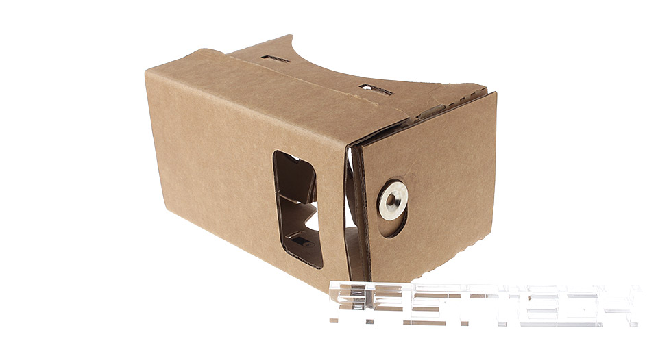 DIY Cardboard 3D VR Virtual Reality Goggles