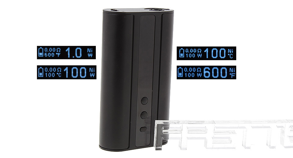 Authentic Eleaf iStick 100W TC VW APV Box Mod