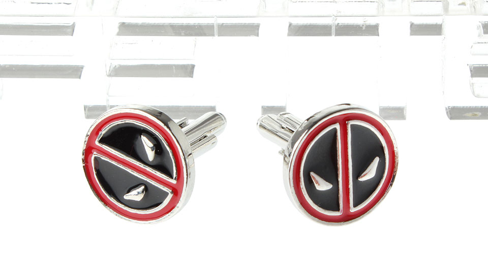 Deadpool Logo Cufflinks (Pair)