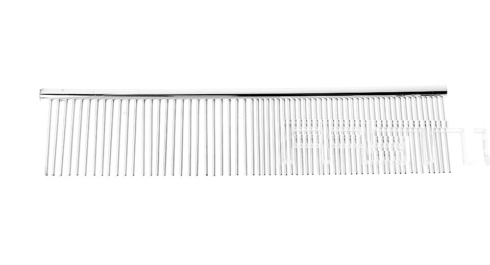 Stainless Steel Pet Hair Grooming Comb (Size M)
