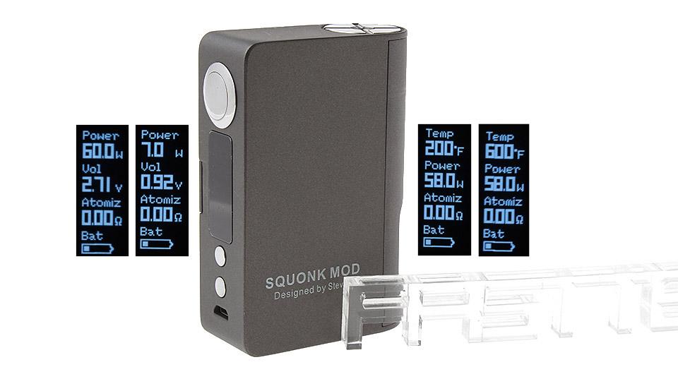 Product Image: authentic-steam-crave-squonk-60w-tc-vw-apv-box-mod