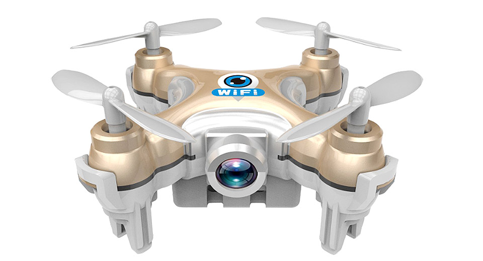 Image of Authentic Cheerson CX10W 4CH 2.4GHz Wifi FPV Quadcopter