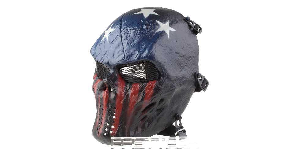 Image of Authentic Chiefs M06 Full Face Airsoft Mask