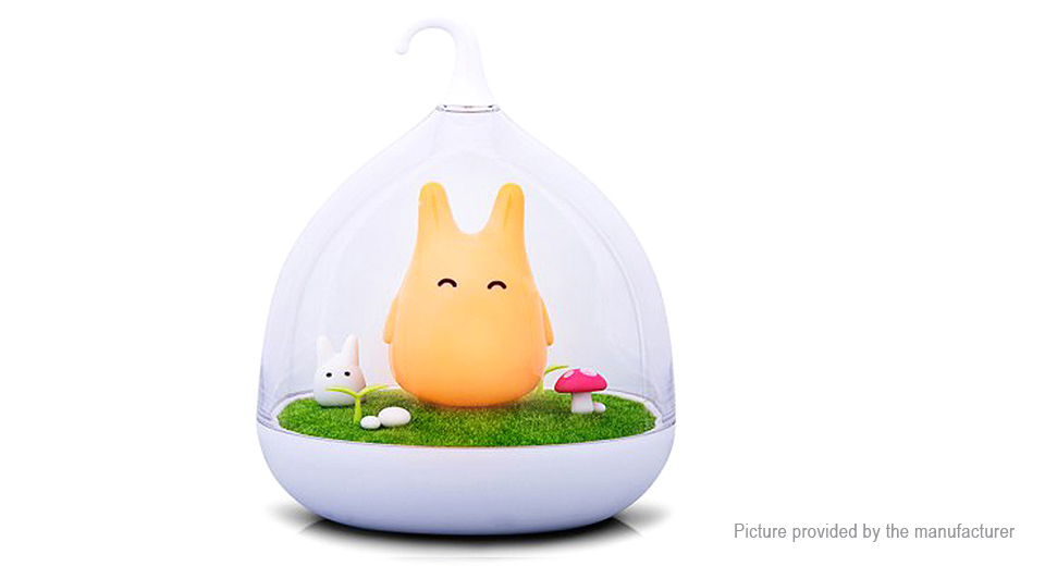Image of Totoro Styled Rechargeable LED Night Lamp