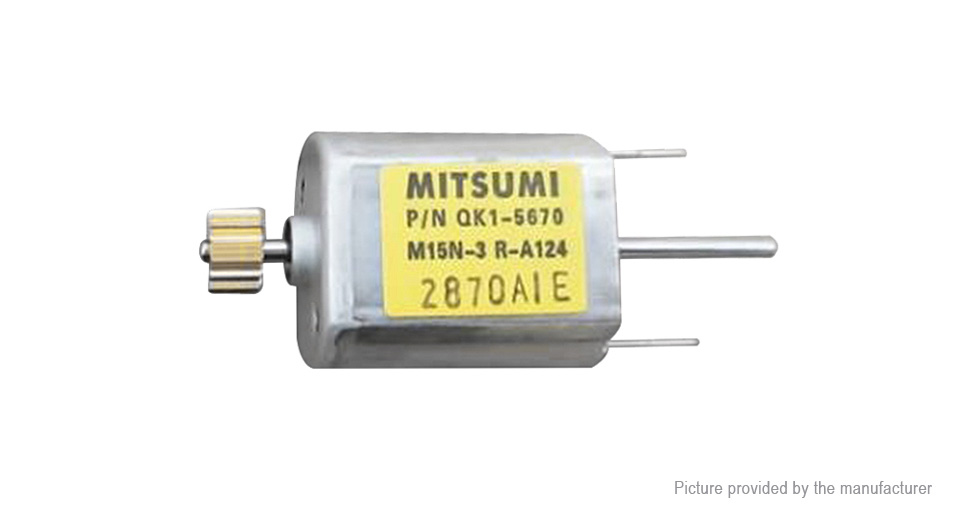 Image of Authentic MITSUMI 030 12V 13100rpm DC Micro Motor