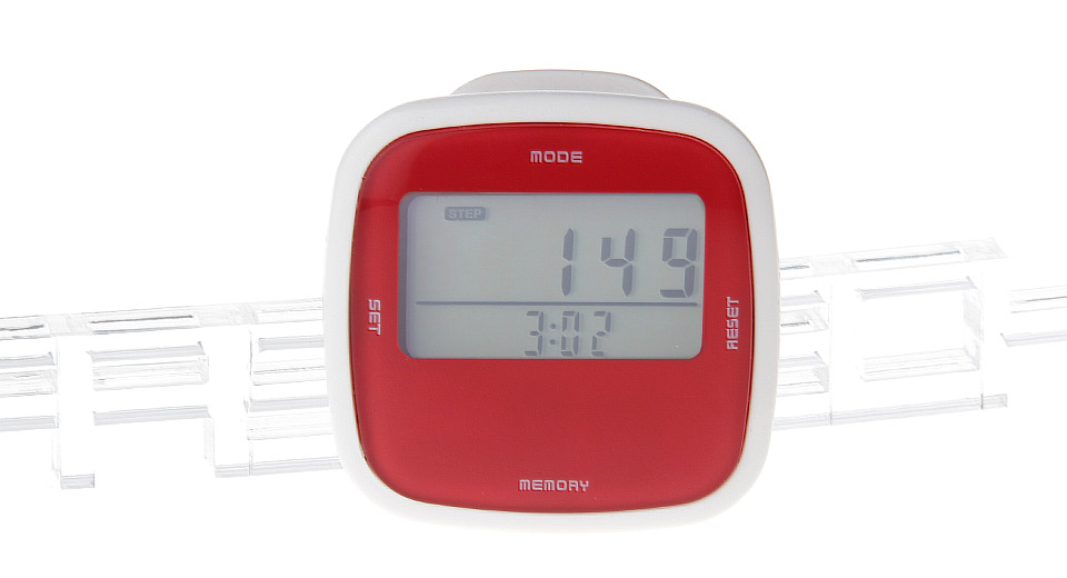 "Image of 1.5"" LCD Digital Step Counter Pedometer"