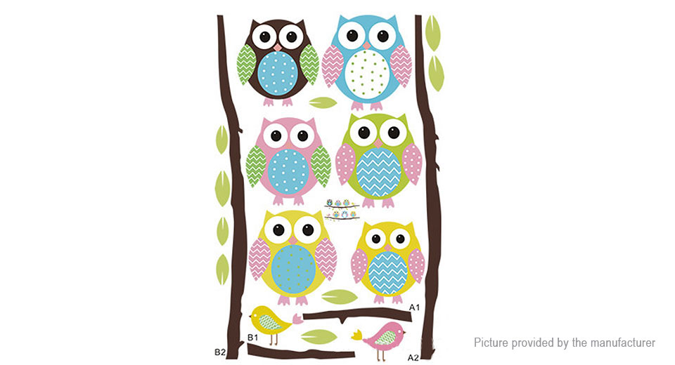 Owl Styled Wall Sticker Decoration Decal