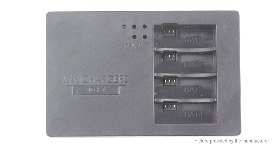 Image of 2-Socket Battery Charger for Parrot MiniDrones