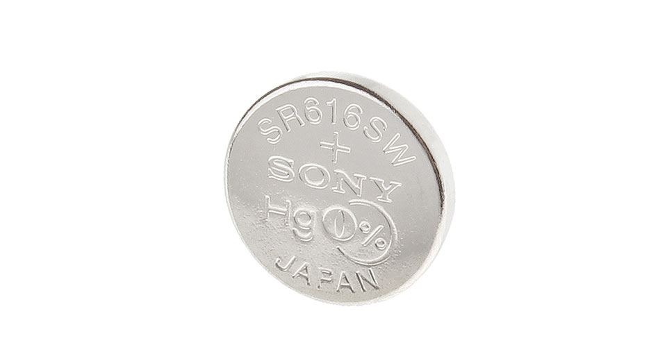 Image of Authentic Sony 321 SR616SW 1.55V 14.5mAh Button Cell Battery