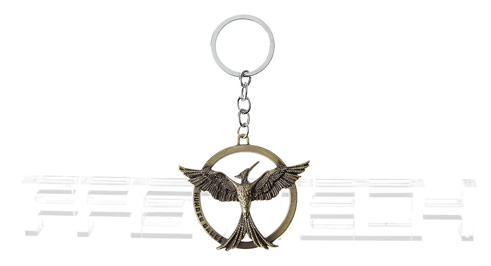 The Hunger Games Catching Fire Mockingjay Keychain