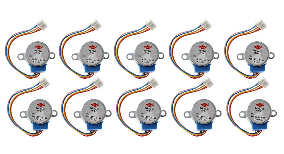 Product Image: diy-5v-4-phase-5-wire-dc-stepper-motor-10-pack