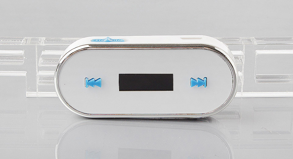 """Image of 0.7"""" LCD Handsfree FM Transmitter for iPhone / iPod / Cell Phones"""