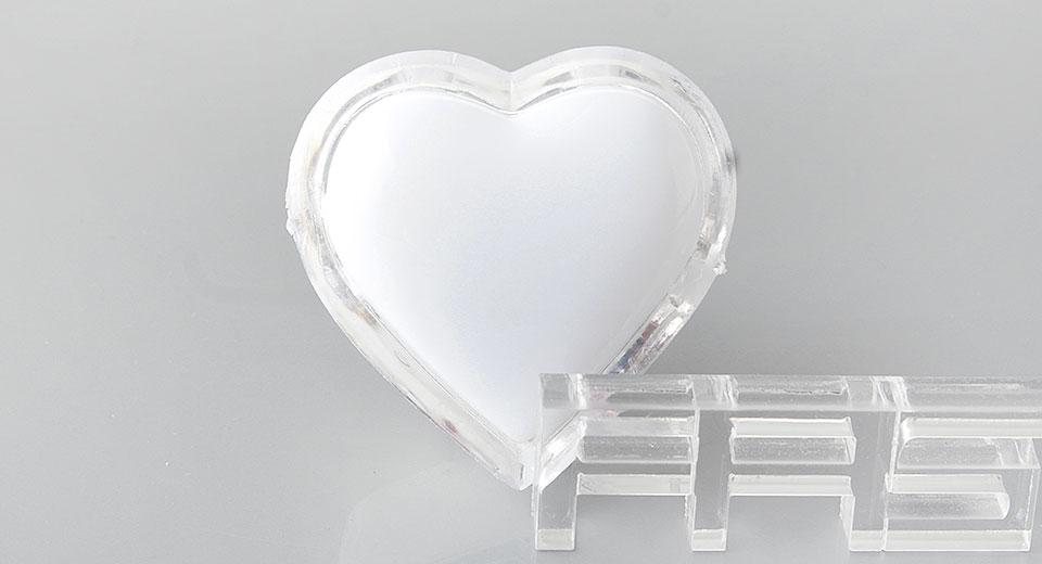 Image of Heart Shaped LED Night Lamp