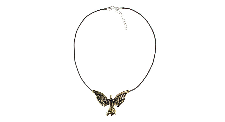 The Mortal Instruments City of Bones Clockwork Angel Pendant Necklace