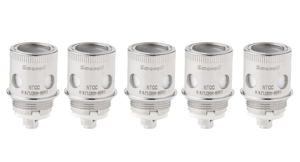 Image of Authentic Smowell Divergent Tank Replacement Kanthal A1 NTCC Coil Head (5-Pack)