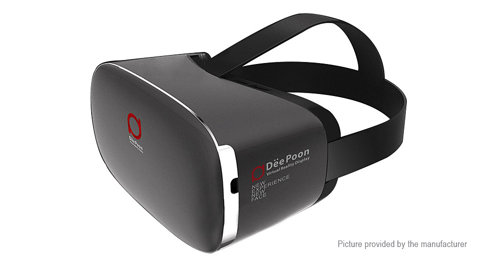 DeePoon E2 Virtual Reality VR 3D Glasses